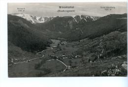 Münstertal, Hochvogesen - Elsass