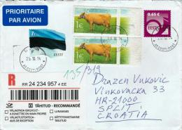 Estonia Topic (cow) Register Cover