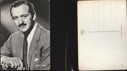 3466) DAVID NIVEN NON VIAGGIATA ATTORE ACTOR CINEMA ACTRESS DEAR FILM - Schauspieler