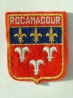 ECUSSON TISSUS BRODE  - ROCAMADOUR - LOT - Patches