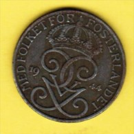 SWEDEN   5 ORE 1944  (KM # 812) - Sweden