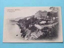 IMPERIAL Hotel ( TORQUAY ) Anno 19?? ( Zie Foto Voor Details ) !! - Hotels & Restaurants