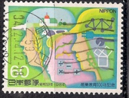 Japan 1984 -  The 100th Anniversary Of Technical Education - 1926-89 Emperor Hirohito (Showa Era)