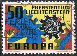 Liechtenstein SG467 1967 Europa 50r Good/fine Used - Liechtenstein