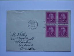 US 1948 HARLAN STONE FDC - Briefe U. Dokumente