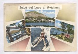 AVIGLIANA - TORINO - 1962 - SALUTI DAL LAGO DI AVIGLIANA. SCI ACQUATICO - Sci Nautico