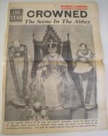 Elizabeth II Coronation,  Couronnement D'Elisabeth II - The Star - June 2, 1953 - History