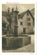 Allemagne Cpa Photo Hospenthal Heimat Brunnen - Andere