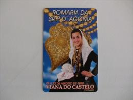 Romaria Da Senhora Da Agonia Viana Do Castelo Gráfica Casa Dos Rapazes Portugal Portuguese Pocket Calendar 2000 - Tamaño Pequeño : 1991-00