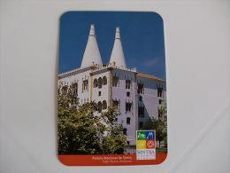 Câmara Municipal De Sintra Palácio Nacional De Sintra Portugal Portuguese Pocket Calendar 1998 - Small : 1991-00