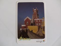Câmara Municipal De Sintra Palácio Nacional Da Pena Portugal Portuguese Pocket Calendar 1995 - Small : 1991-00