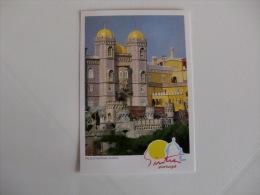 Câmara Municipal De Sintra Palácio Nacional Da Pena Portugal Portuguese Pocket Calendar 1993 - Calendari