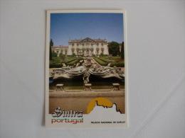 Câmara Municipal De Sintra Palácio Nacional De Queluz Portugal Portuguese Pocket Calendar 1989 - Calendari