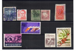 AMERICA SEVERAL COUNTRIES ( VENEZUELA, NICARAGUA  ETC.)  Old & Recent Used  Stamps - Autres - Amérique