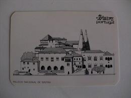 Câmara Municipal De Sintra Palácio Nacional De Sintra Portugal Portuguese Pocket Calendar 1988 - Calendari