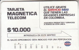 COLOMBIA(Tamura) - Service 9800, Used - Colombia
