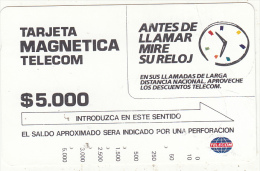 COLOMBIA(Tamura) - Discounted Fares, Used - Colombia