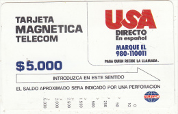 COLOMBIA(Tamura) - USA Direct($5000), Used - Colombia
