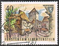 Liechtenstein SG776 1981 Castle 40r Good/fine Used - Liechtenstein