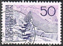 Liechtenstein SG567 1973 Landscapes 50r Good/fine Used - Liechtenstein