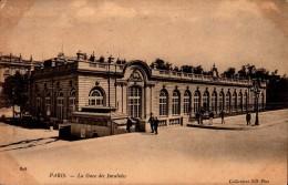 75-PARIS..LA GARE DES INVALIDES...CPA - Pariser Métro, Bahnhöfe