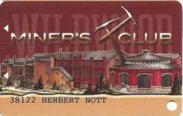 WIldwood Casino Cripple Creek CO @2008 Slot Card (Printed) - Casino Cards