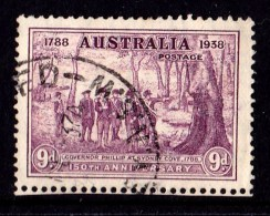 Australia 1938 Foundation Of New South Wales - Phillip 9d Used - 1937-52 George VI