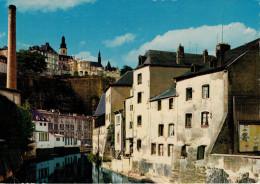L' ALZETTE  PITTORESQUE  AU  GRUND        (VIAGGIATA) - Esch-Alzette
