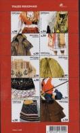 PIA  - POTOGALLO  - 2007  :  Costumi Tradizionale Regionali     (UNIFICATO 3104-13) - 1910-... Republiek