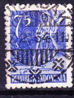 Indonesien - Ksatria-Krieger (Mi.Nr. 107) 1953 - Gest. Used Obl - Indonesia