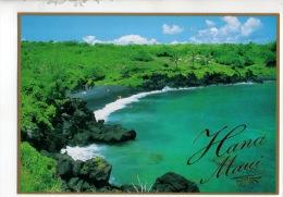 ÉTATS-UNIS . HANA MAUI . BLACK SANDS BEACH - Réf. N°13258 - - Maui