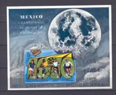 Chad 1970 Football MEXICO MS MNH (R0286) - World Cup