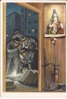 NOSTRA SIGNORA DEL LAVORO  Nuova Olonio Sondrio  Saldatori  Illustrata Fg - Vergine Maria E Madonne