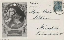 Allemagne - PUB - 1921 - ALFA-LAVAL-SEPARATOR - Der Beste Separator Der Welt Gewährleistef. - Reclame