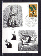 """Carte Maximum De 1977 """" 50 ANS DU CERCLE ROYAL MARS ET MERCURE """". N° YT 1850. Parfait état. CM - Cartes-maximum (CM)"""