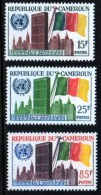 "Cameroun YT 317 à 319 "" Admission ONU "" 1961 Neuf** - Cameroun (1960-...)"