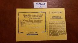 Carnet N° 3085-C2 Avec Oblitèration Cachet à Date De 1998  TTB - Definitives
