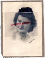 87 - CHATEAUPONSAC- RARE PHOTOGRAPHIE ORIGINALE -  MLLE ARDELLIER ADELE LUCIE EN 1946- - Photos