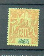 Como 164 - YT 7 (*) - Grande Comore (1897-1912)