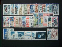 FRANCE 1965 NEUF ** SANS CHARNIERE ANNEE COMPLETE N° 1435 à 1467 - France