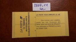 Carnet N° 2807-C1 Avec Oblitèration Cachet à Date De 1994  TTB - Definitives