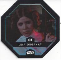 STAR WARS - Jeton Leclerc Cosmic Shells N° 01 - LEIA ORGANA - Autres Collections