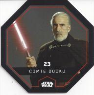 STAR WARS - Jeton Leclerc Cosmic Shells N° 23 - COMTE DOOKU - Autres Collections