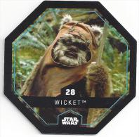 STAR WARS - Jeton Leclerc Cosmic Shells N° 28 - WICKET - Autres Collections