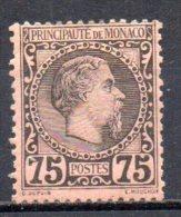 5/  Monaco : N° 8  Neuf  X  , Cote :  420,00 € , Disperse Belle Collection ! - Monaco