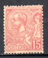 5/  Monaco : N° 15  Neuf  X  , Cote : 250,00 € , Disperse Belle Collection ! - Neufs
