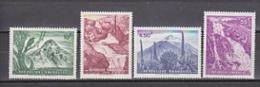 Rwanda 1966 Waterfalls & Volcanos 4v ** Mnh (26806B) - Rwanda