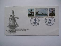 NETHERLANDS 1991 WINDMILL FDC - Period 1980-... (Beatrix)