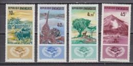 Rwanda 1965 Coopération Internationale 4v ** Mnh (26806D) - Rwanda