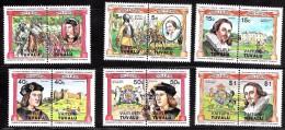 Tuvalu Vaitupu     17-22  Mint NH British Monarchs   CV 3.00 - Tuvalu